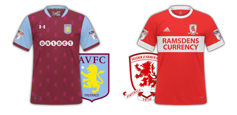 Aston Villa v Middlesborough