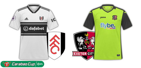 Fulham v Exeter City - Carabao Cup