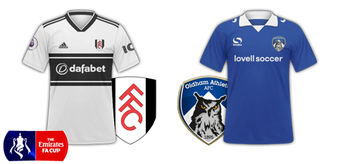 Fulham v Oldham (FA Cup 3rd round)