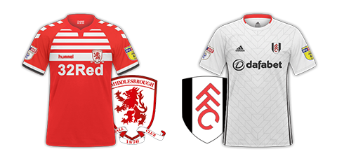 Middlesborough v Fulham